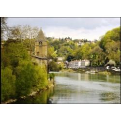 l'île Barbe, dont l'histoire remonte au haut moyen âge n'a rejoint Lyon qu'en 1963, île indépendante elle s'érigea en principaut