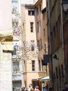 Les rues de Lyon