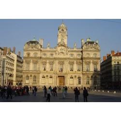 La façade des Terreaux de la mairie de Lyon.