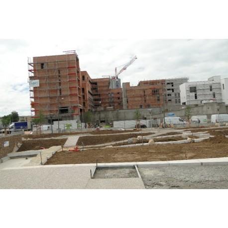 Le chantier en 2010