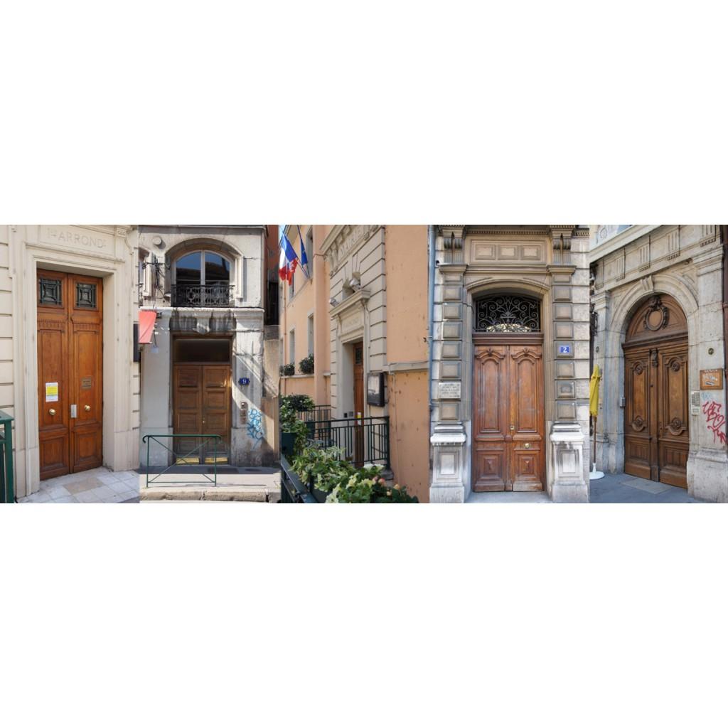 Rue du jardin des plantes les rues de lyon - Gare de lyon jardin des plantes ...