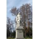 Les statues du parc